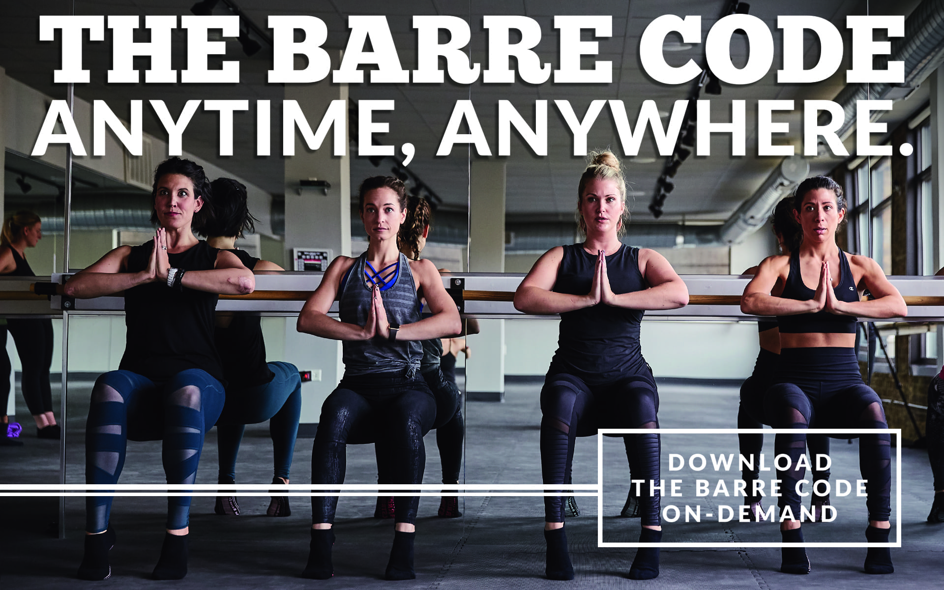 Total Body Barre Classes & Workouts | The Barre Code